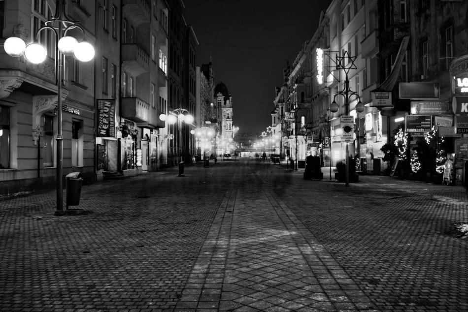 Ulica Mariacka w Katowicach