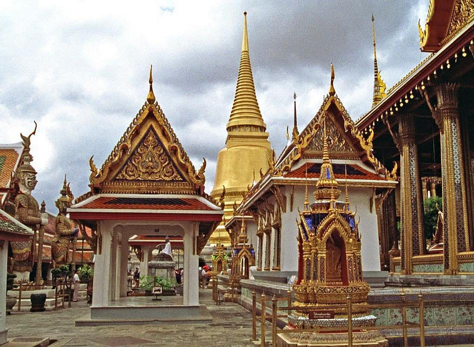 Bangkok - światynia Szmaragdowego Buddy