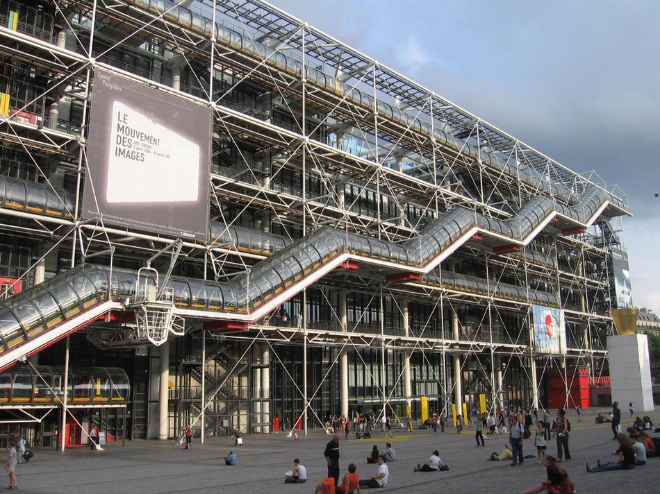 Pary centre georges pompidou zdj cia - Centre george pompidou architecture ...