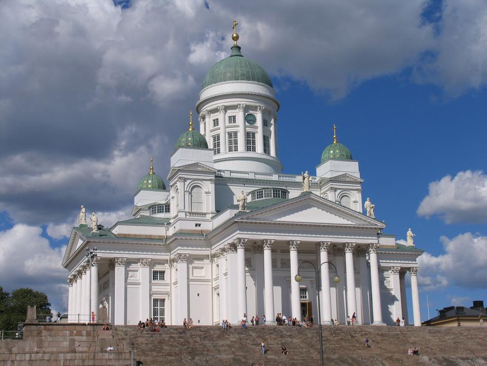 Helsinki - Tuomiokirkko (katedra luterańska)