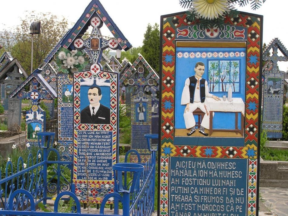 Sapanta - Wesoły cmentarz w Rumunii