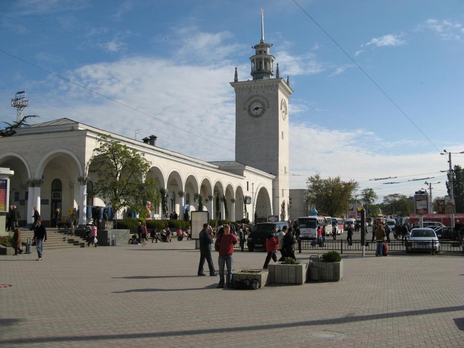 Krym - Symferopol dworzec kolejowy