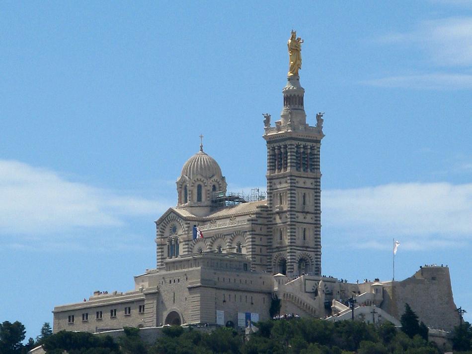 Marsylia - Bazylika Notre-Dame