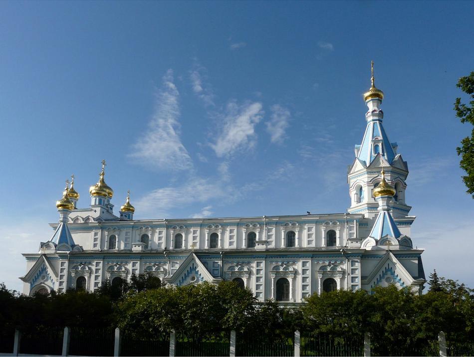 Dyneburg - Prawosławny sobór św.św. Borysa i Gleba