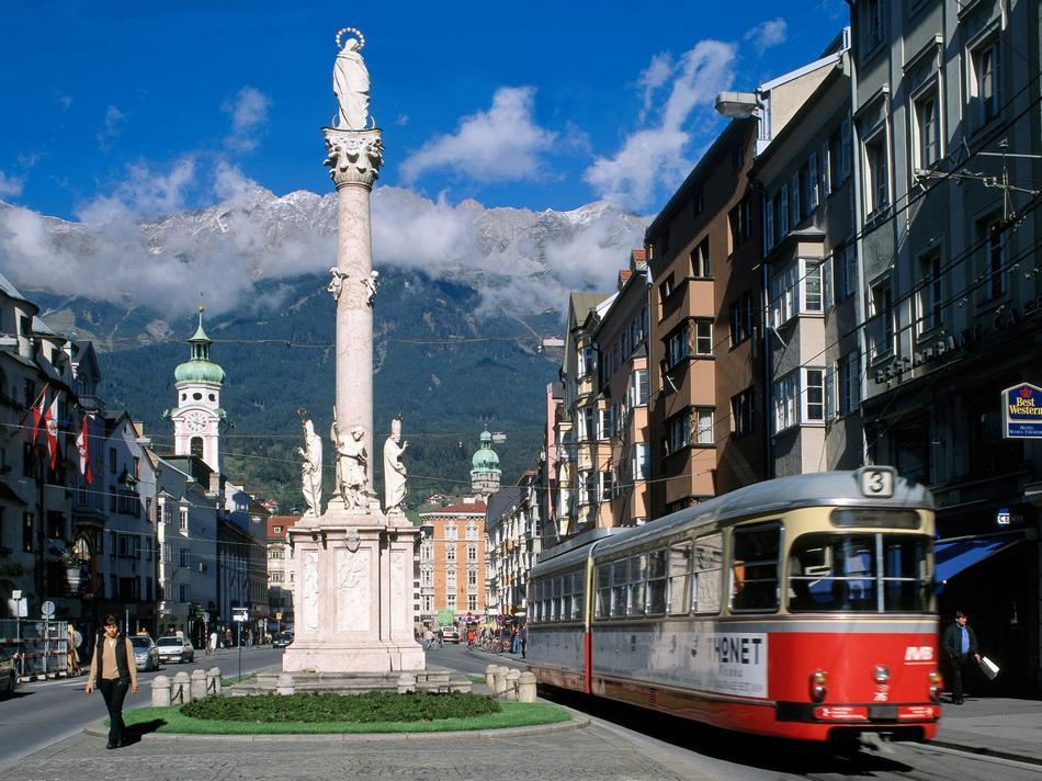 Innsbruck - Ulica w centrum