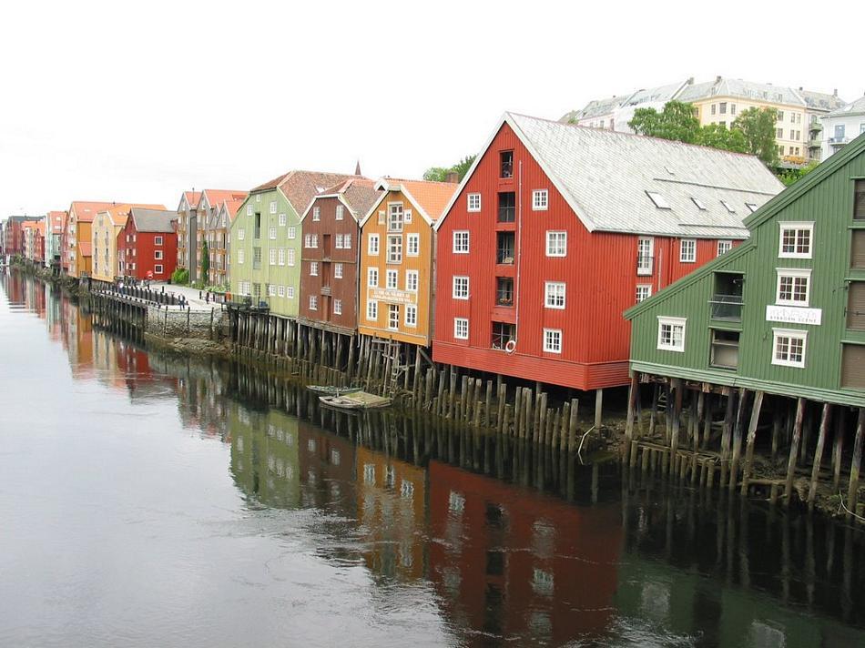 Trondheim - Stare miasto