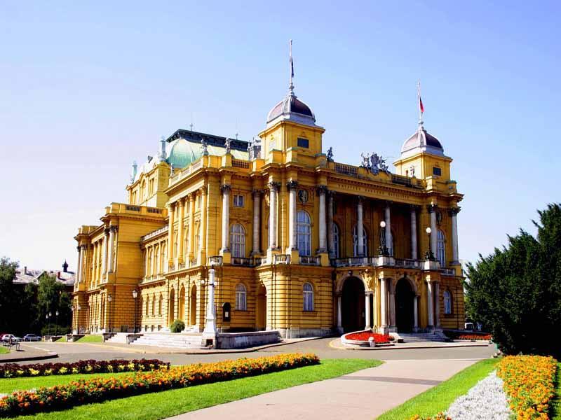 Zagrzeb - Teatr Narodowy