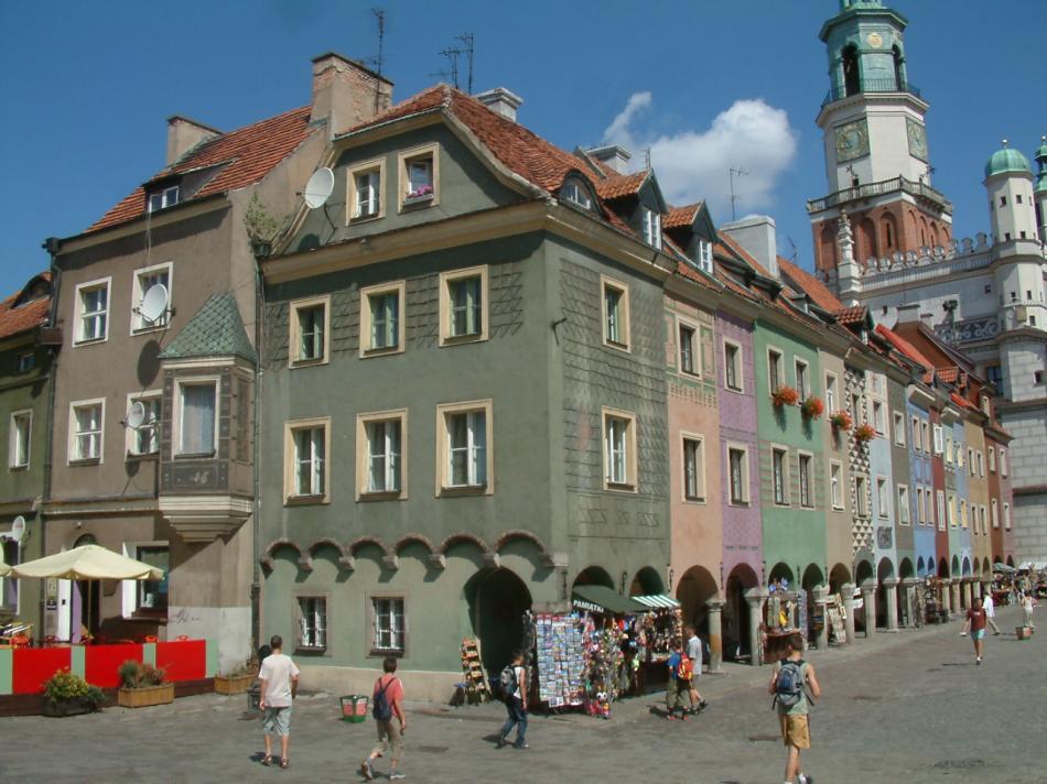 Domki budnicze w Poznaniu