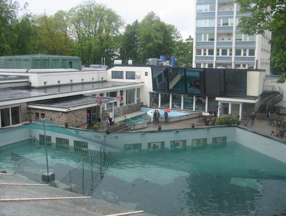 Akwarium w Bergen