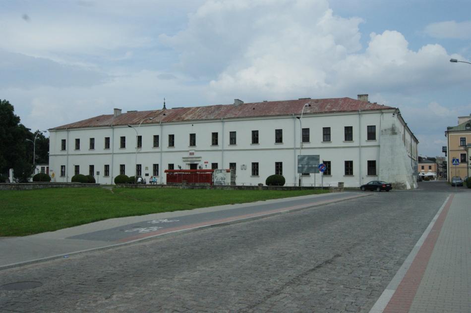 Gmach dawnej Akademii Zamojskiej