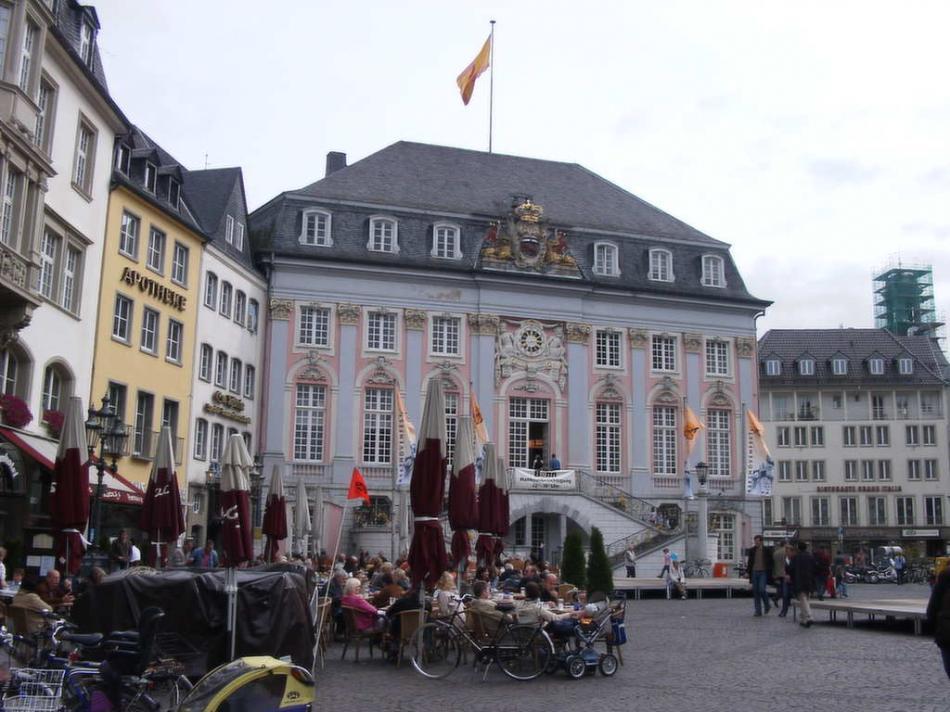 Bonn - Ratusz w Bonn