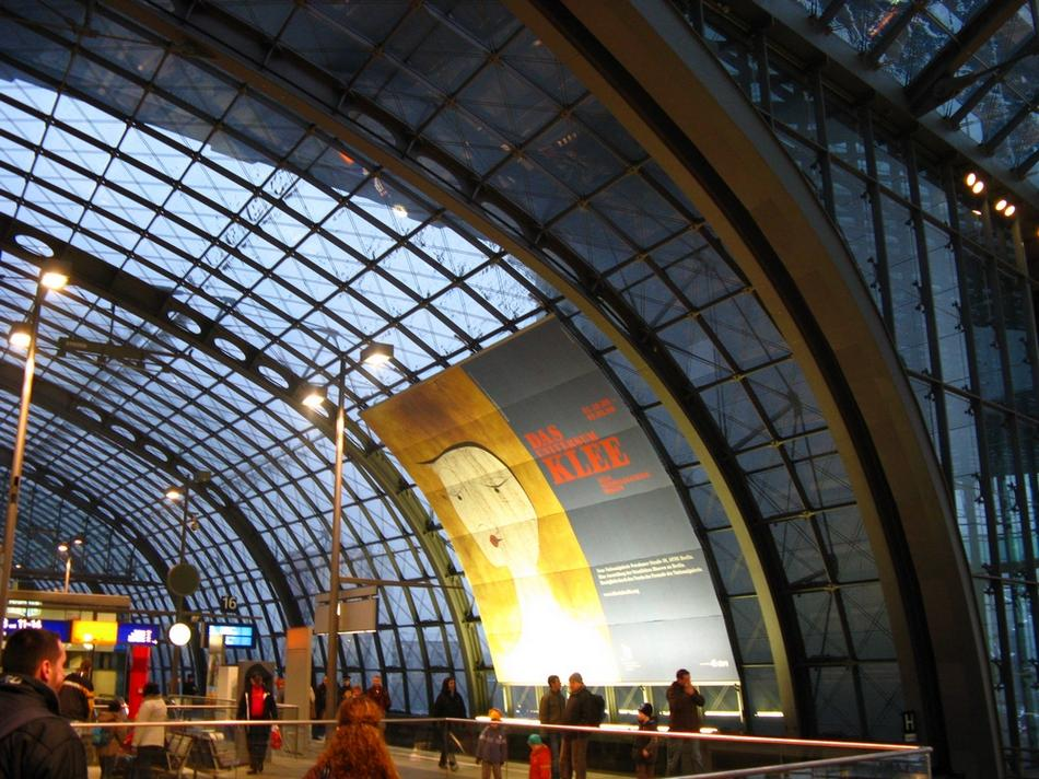Berlin - Dworzec główny w berlinie